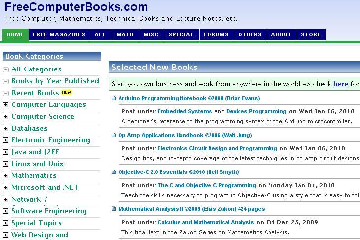 FreeComputerBooks
