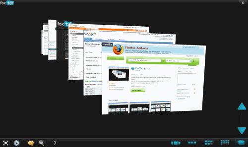 FoxTab Screenshot