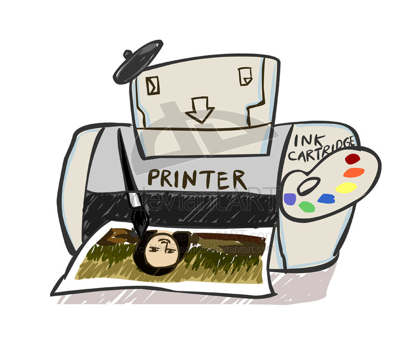 Inkjet Printer by Tricks Machine