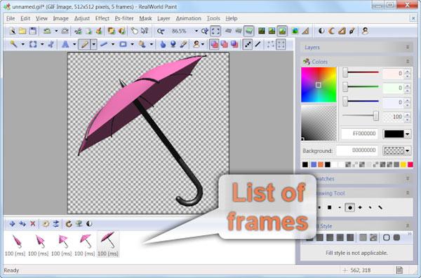 umbrella-animation