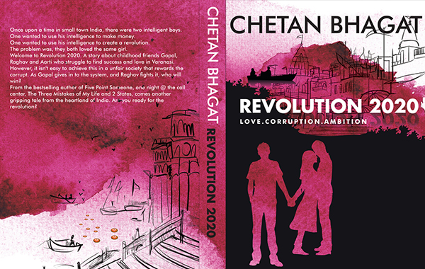 Get free ebook: revolution 2020 by chetan bhagat.