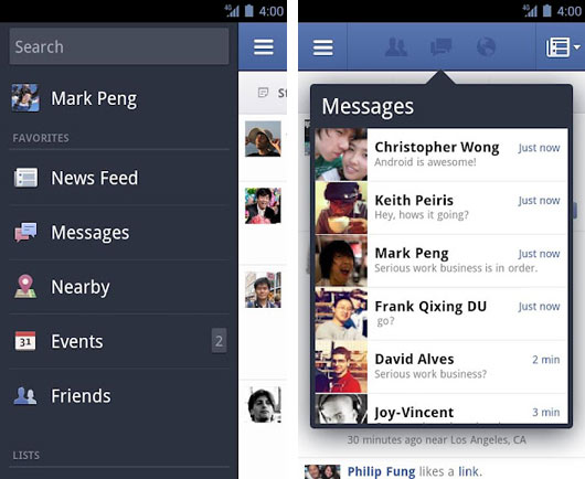 Facebook-for-Android-App