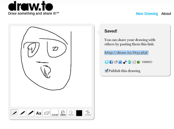 Draw To Create Drawings And Share With Your Friends • avoid drawing words and letters. tricks machine
