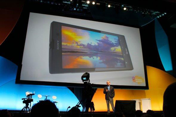 Sony Xperia ION launch