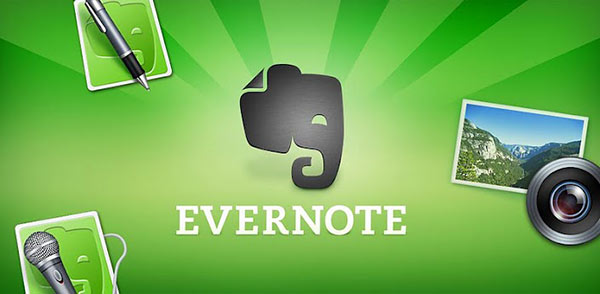 Evernote Top Five Highly Rated Mobile Apps of 2012