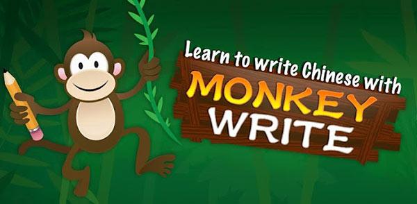 Monkey Write  Learn Chinese