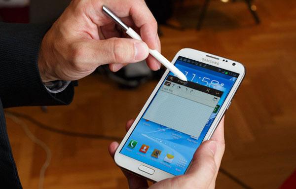 Samsung Galaxy Note II apps