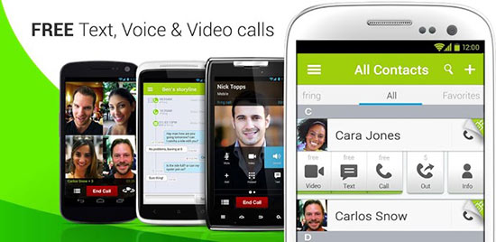 fring video call android