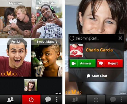 ooVoo Video Call android app