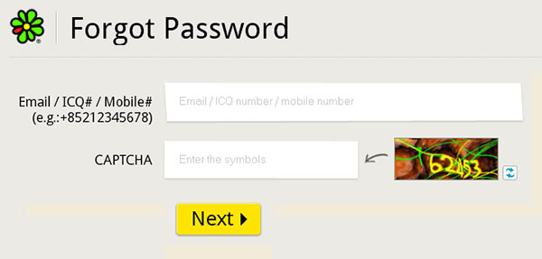reset-ICQ-password