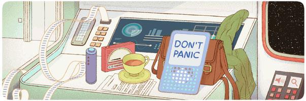 Douglas-Adams-Google-Doodle