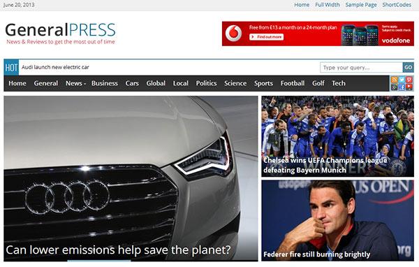 GeneralPress-theme-demo