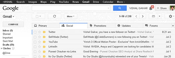 Gmails-new-tabbed-interface