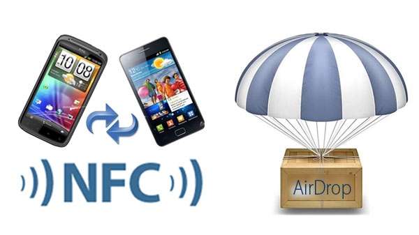 NFC-Vs-AirDrop