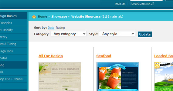 Web Design Library