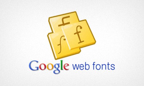 Google Web Fonts For Web Design Projects