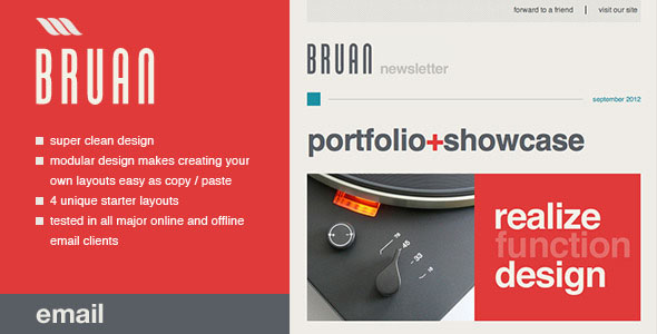 Braun Email Template
