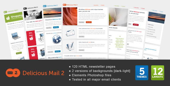 Delicious Mail2 newsletter template
