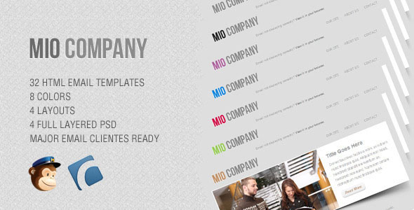 Mio – Corporate Email Template
