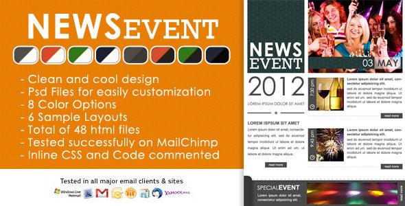 News Event Newsletter Template