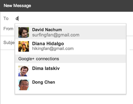 send-google-plus-contacts-email