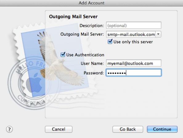 Outgoing-mail-server