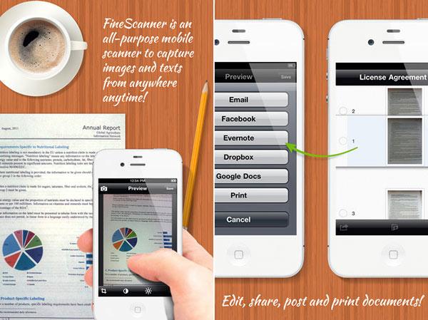 FineScanner-app