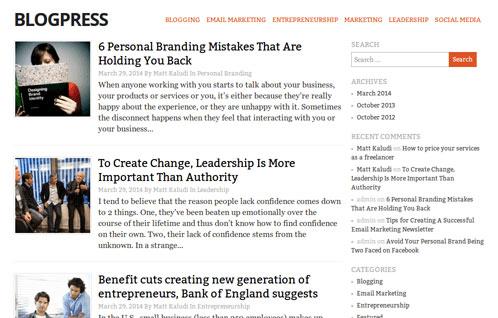 blogpress-theme