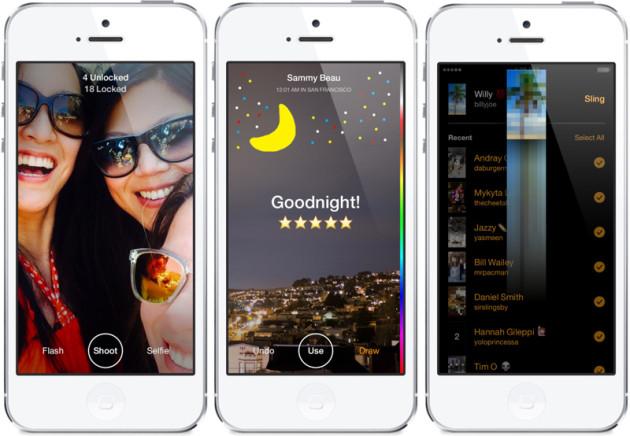 Facebook launches Slingshot