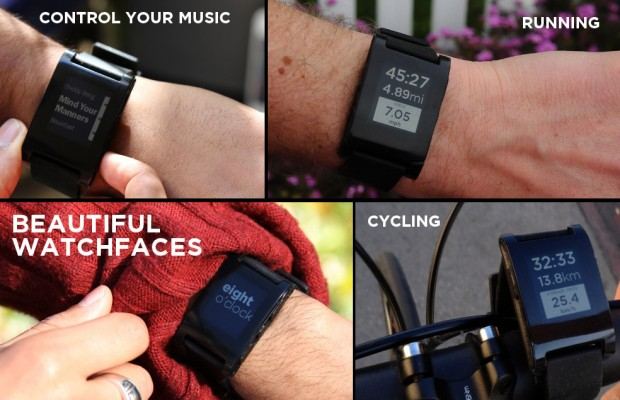 Pebble Watch For Smartphones