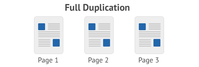 full duplicates in Magento
