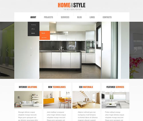 Home-and-style-wordpress