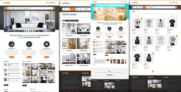 Interia - Responsive WordPress CMS Theme