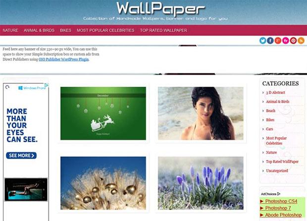 wallpapers-wordpress-theme
