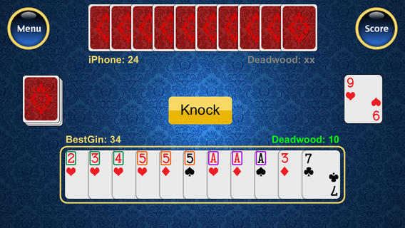 Rummy card game iphone