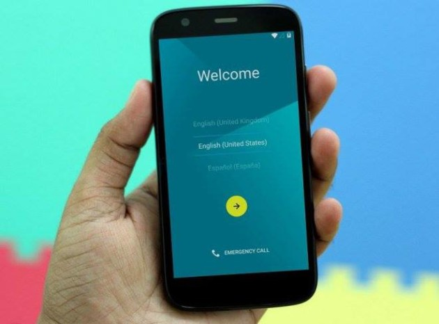 Moto G android lollipop