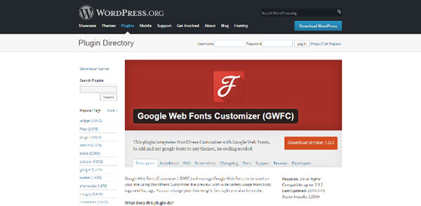 Google-Web-Fonts-Customizer