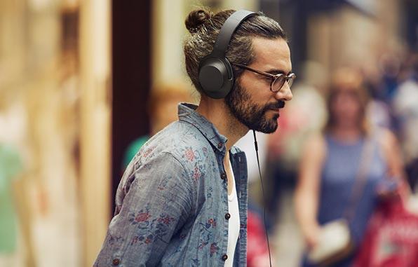 Hear-on-headphones
