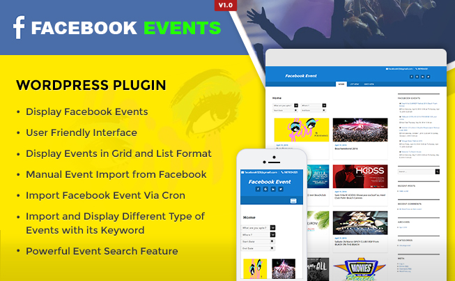Facebook-Events-WordPress-Plugin